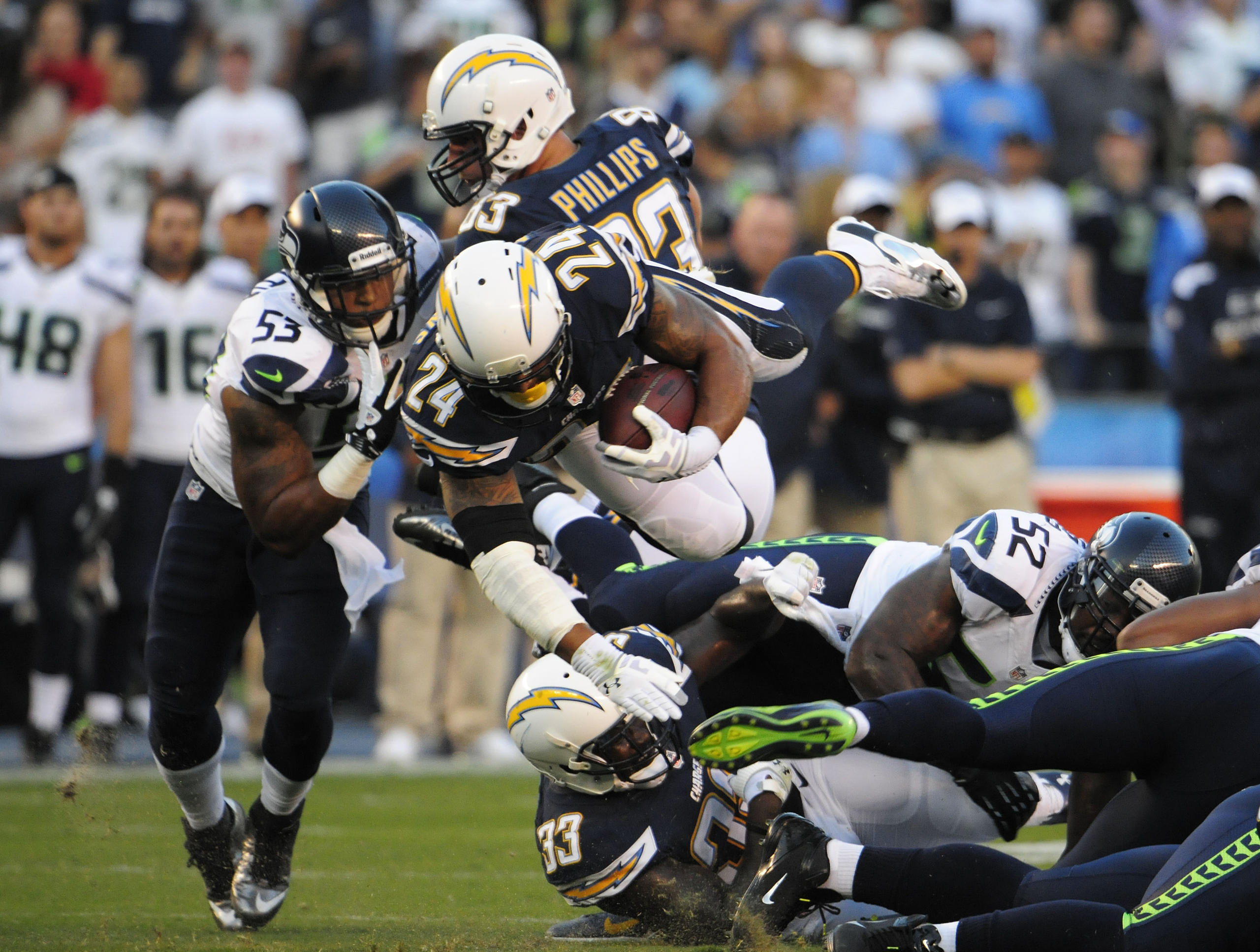 Seattle Seahawks Vs Los Angeles Chargers 2017 Live Stream Football